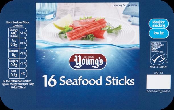 16 Seafood Sticks
