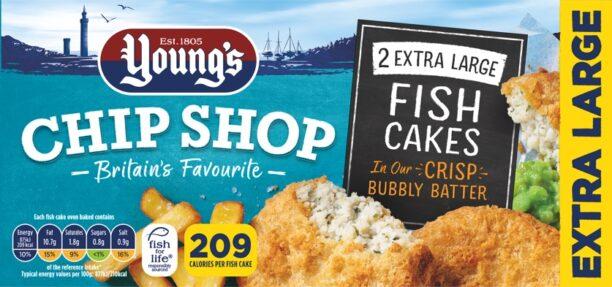 2 Extra Large Fish Cakes
