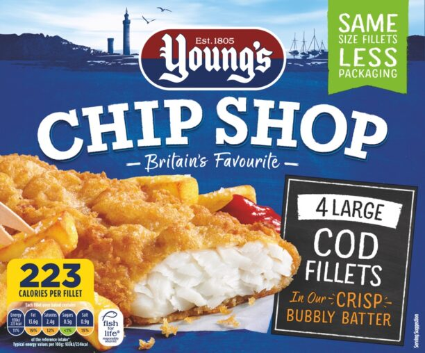 4 Large Cod Fillets