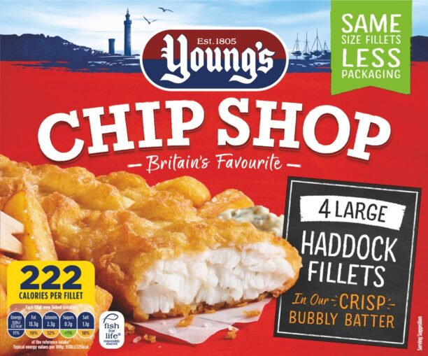 4 Large Haddock Fillets