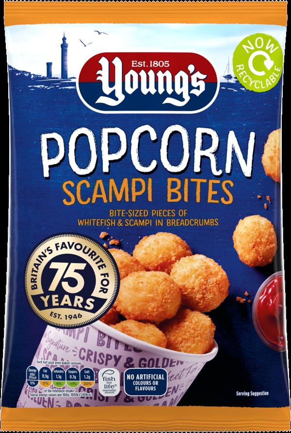 Popcorn Scampi Bites