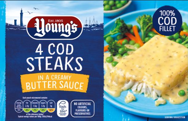 4 Cod Steaks