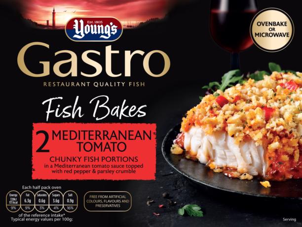 2 Mediterranean Tomato Fish Bakes