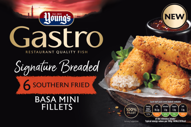 6 Signature Breaded Southern Fried Basa Mini Fillets